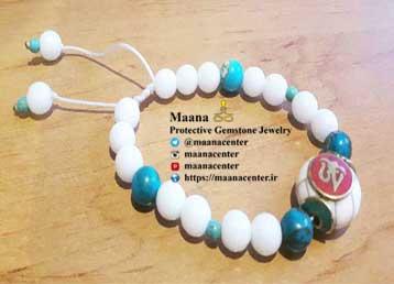 دستبند مرجان سفید