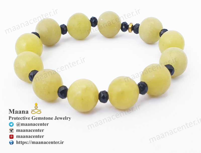 دستبند-عقیق-زرد